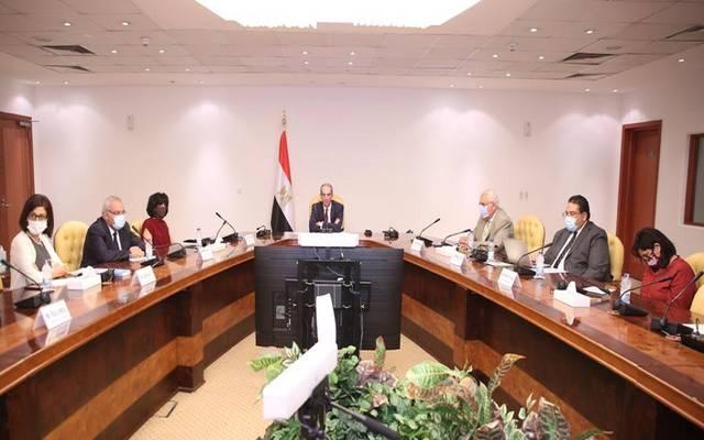 وزير الاتصالات خلال توقيع اتفاقية تعاون بين معهد تكنولوجيا المعلومات ITI وشركة جوجل العالمية