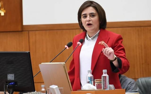 وزيرة الشؤون الاجتماعية بالكويت، غدير إسيري