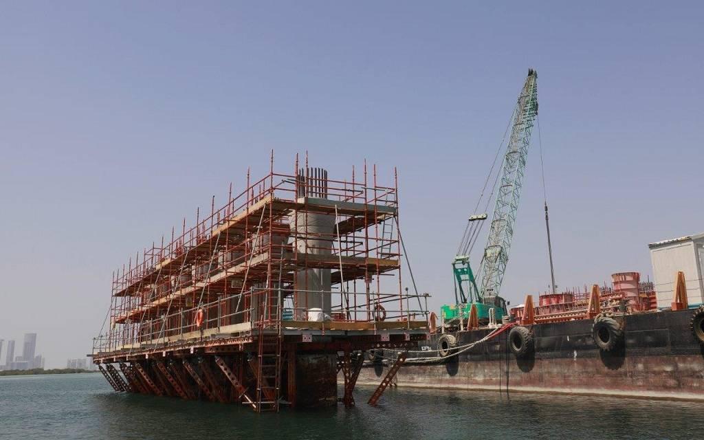 """أبوظبي تُنجز 60% من مشروع """"أم لفينة""""..والتسليم الربع الثالث 2020"""