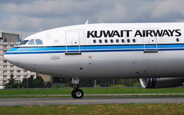 طائرة مملوكة للخطوط الجوية الكويتية ـ ارشيفية