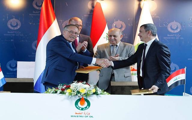 Iraq .. Signing a memorandum to establish an industrial island to raise oil export capacity
