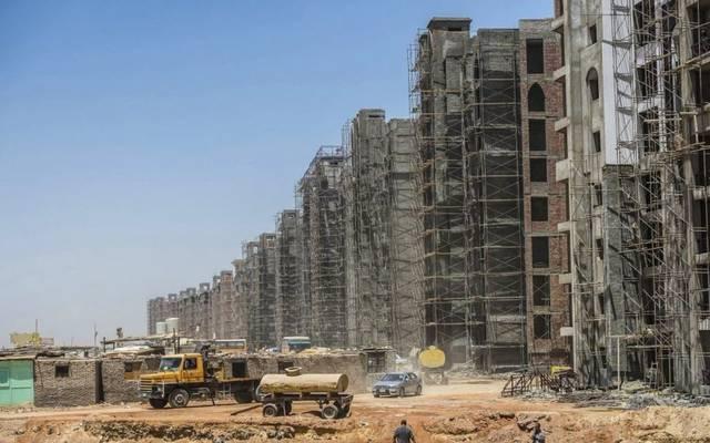 مشروع عقاري تحت الإنشاء في مصر