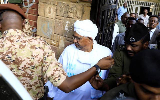 الرئيس السودانى المعزول