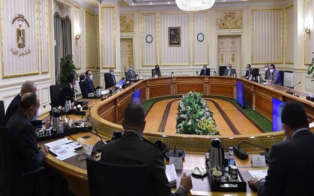 خلال الاجتماع الأسبوعي لمجلس الوزراء المصري