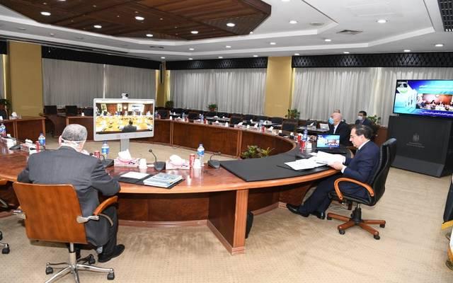 جانب من اجتماع الجمعية العامة لشركة فجر المصرية عبر الفيديوكونفرانس