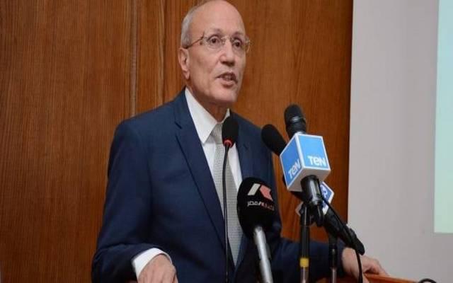 محمد سعيد العصار وزير الدولة للإنتاج الحربي