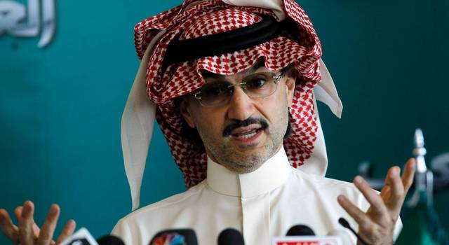 The Saudi prince ascribed the decline in his fortune to a drop in KHC shares