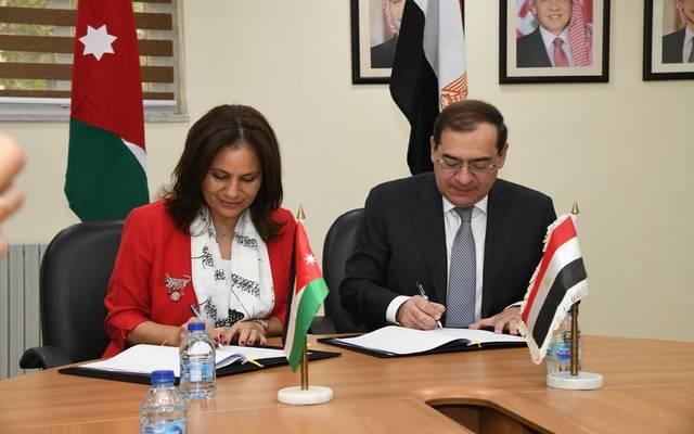 الجانبين ناقشا الإجراءات المطلوبة لتأمين وتوفير مصادر الطاقة بين المملكة الأردنية الهاشمية وجمهورية مصر العربية