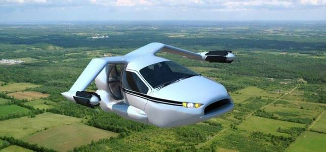 The flying taxi would take the shortest route to a given destination