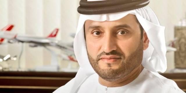 علي سالم المدفع رئيس هيئة مطار الشارقة الدولي