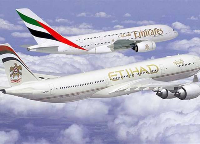 طائرات في الأجواء الإماراتية