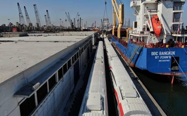 النقل المصرية تعلن وصول دفعة جديدة من عربات ركاب السكك الحديدية الجديدة