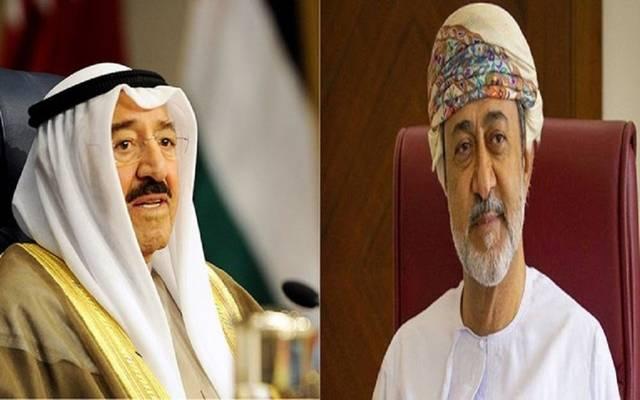 أمير الكويت وسلطان عمان