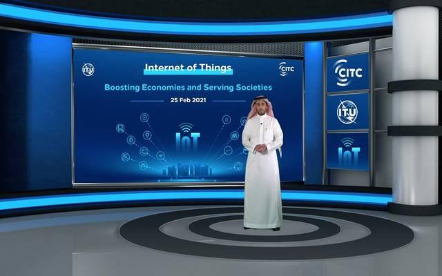 محافظ هيئة الاتصالات وتقنية المعلومات يفتتح ورشةً دولية حول دور تقنيات إنترنت الأشياء في تعزيز الاقتصاد بالتعاون مع الاتحاد الدولي للاتصالات