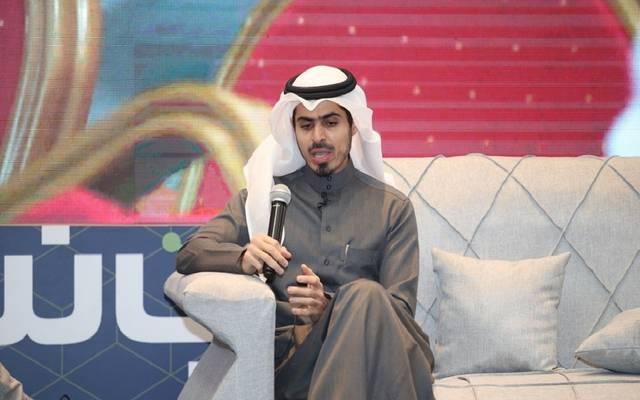 """خالد البلاع عضو مجلس إدارة مجموعة مباشر للخدمات المالية خلال مؤتمر """"عرب نت"""" بالرياض"""