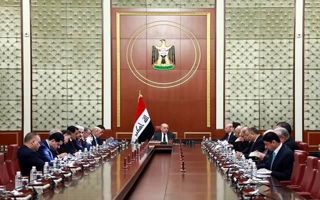 مجلس الوزراء العراقي يرأس اجتماعه الأسبوعي برئاسة  نائب رئيس مجلس الوزراء وزير النفط ثامر الغضبان