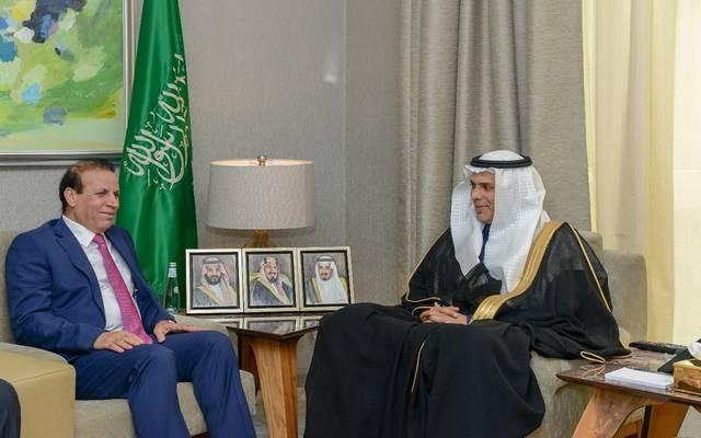 وزير النقل السعودي يلتقي سفير العراق لبحث التعاون المشترك