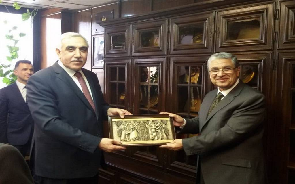 Egypt and Iraq discuss cooperation in the field of renewable energy 1024