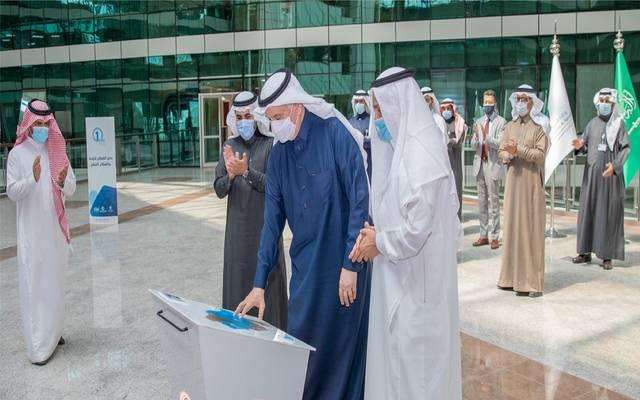 وزير البيئة والمياه والزراعة السعودي، عبد الرحمن الفضلي يدشن اندماج القطاعين الأوسط والشرقي تحت مظلة المياه الوطنية