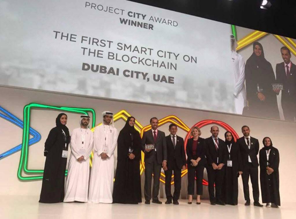 دبي الذكية تفوز بجائزة أذكى مدينة بالعالم فى 2017