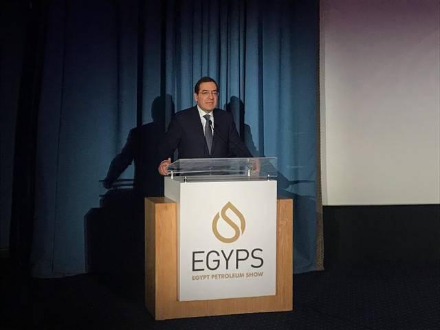 The Egyptian Minister of Petroleum Tarek El-Molla