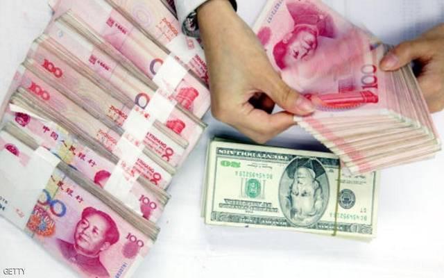 اليوان الصيني يتراجع لأدنى مستوى في 5 أسابيع