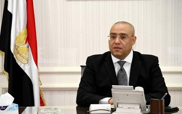Egyptian Minister of housing Assem El-Gazzar