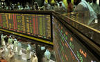 Traded volume dropped to 242.21 million shares on Tuesday