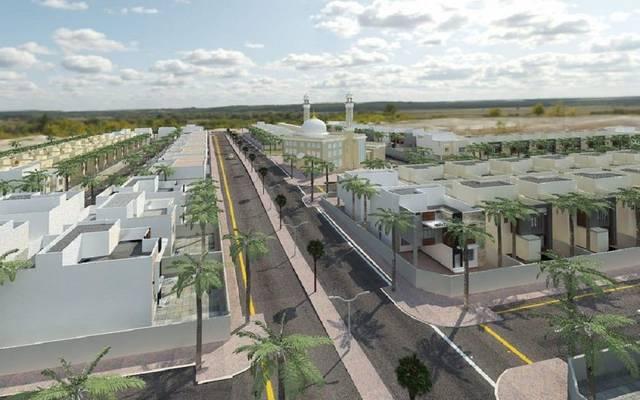مشروع سكني تحت الإنشاء في مدينة بريدة