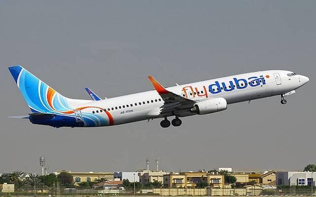 إحدى طائرات شركة فلاي دبي، الصورة أرشيفية