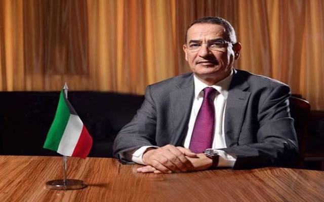 وزير النفط والكهرباء والماء الكويتي بخيت الرشيدي