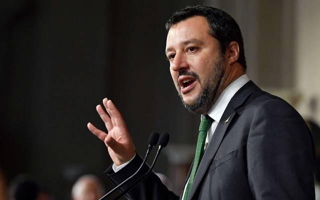 رئيس حزب الرابطة الإيطالي: لا نريد الإطاحة بالائتلاف الحاكم