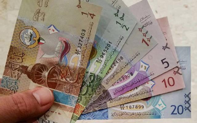 فئات من الدينار الكويتي