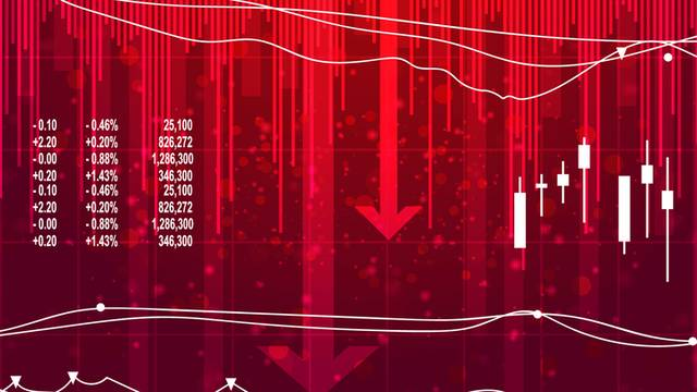 شاشة لأسعار الأسهم