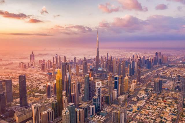 أحد معالم دبي السياحية
