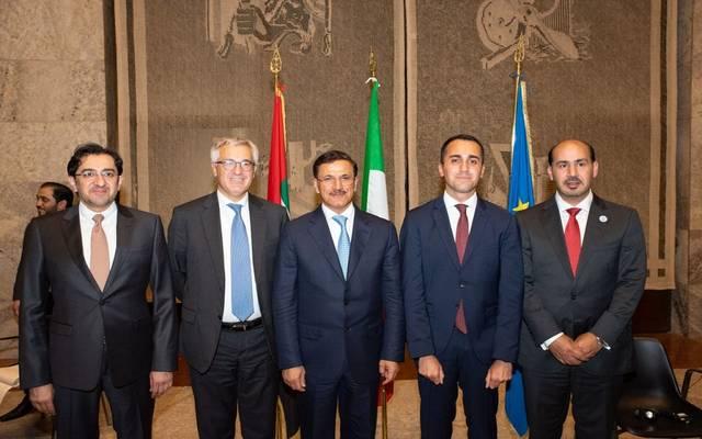 الإمارات تبحث تعزيز التعاون الاقتصادي مع إيطاليا بـ15 قطاعاً