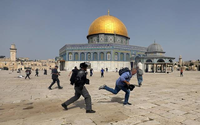 الانتهاكات الإسرائيلية للمسجد الأقصى