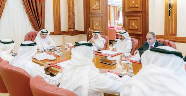 جانب من الاجتماع الثامن عشر للجنة العليا للتخطيط العمراني البحرينية