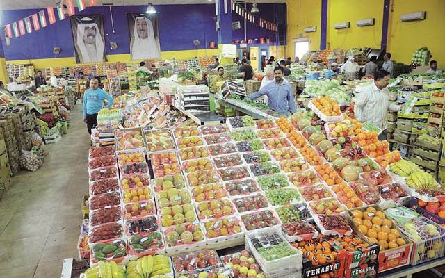 داخل أحد الأسواق التجارية في الكويت