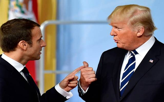 """ترامب: تعليقات ماكرون على حلف الناتو """"غير لائقة"""""""