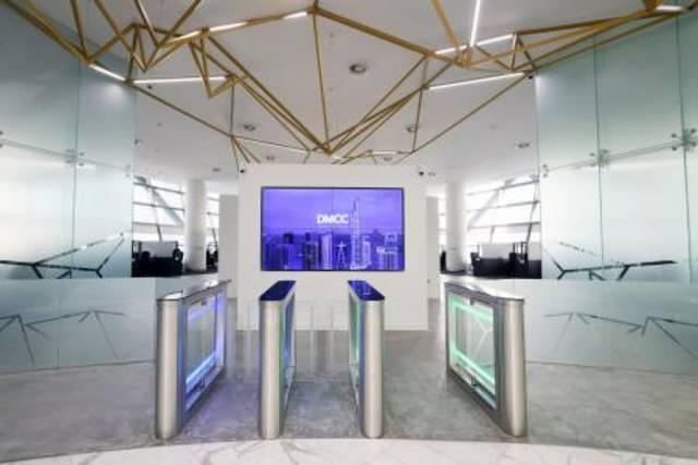 أحد قاعات مركز دبي للسلع المتعددة