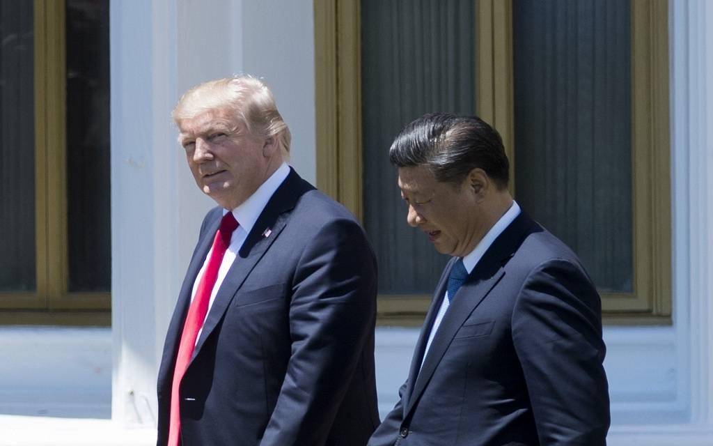 ترامب: نحزر تقدماً كبيراً مع الصين