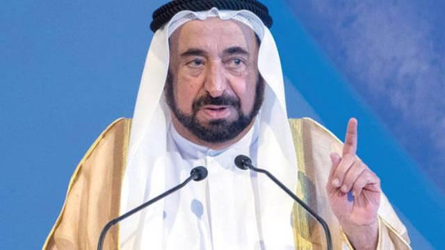 الشيخ سلطان بن محمد القاسمي عضو المجلس الأعلى حاكم إمارة الشارقة