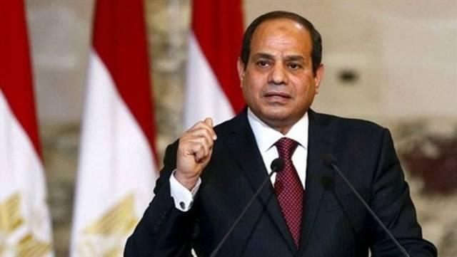 الرئيس عبدالفتاح السيسي القائد الأعلى للقوات المسلحة