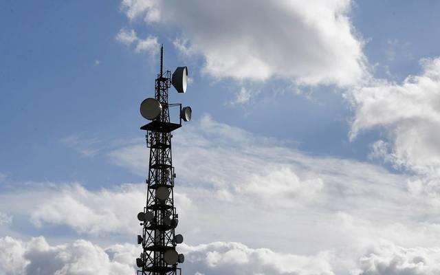 أحد أبراج الاتصالات.