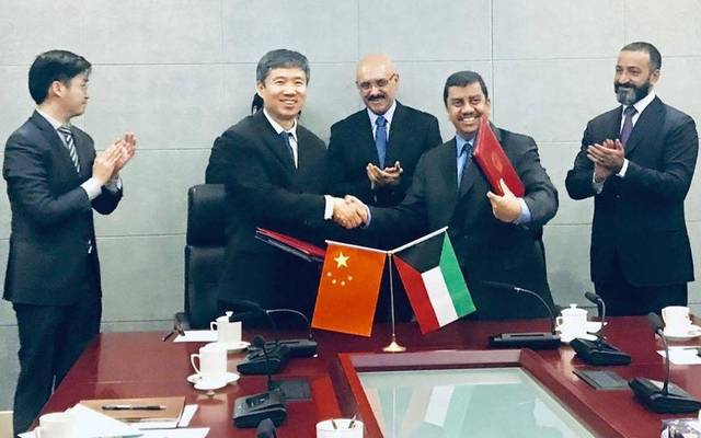 Kuwait Fund for Arab Economic Development (KFAED) signed a KWD 9 million ($30 million) loan agreement with the People's Republic of China