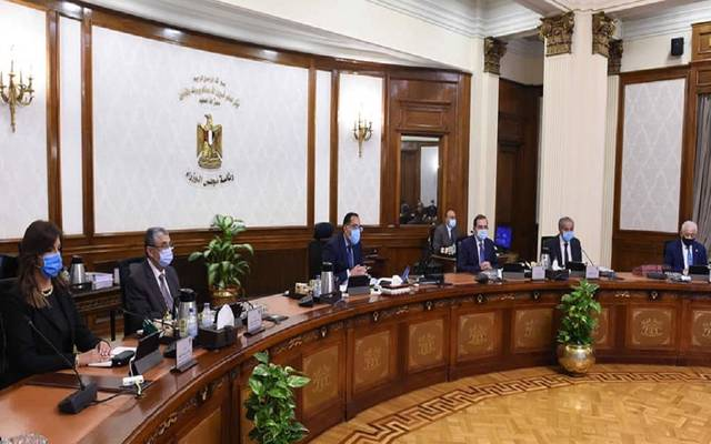 خلال الاجتماع الأسبوعي لمجلس الوزراء المصري اليوم الأربعاء