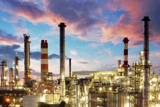 The new refinery will be situated on 585 acres