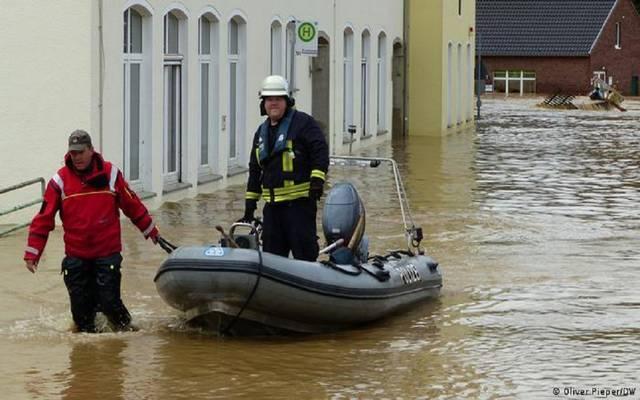 صورة لفيضانات ألمانيا