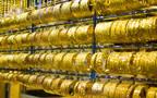 المعدن الأصفر في أحد محال الذهب